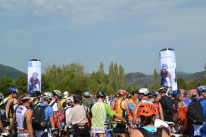 galerie - Totem gonflable triathlon Montpellier