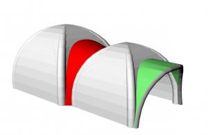 3 D tente X roof copie
