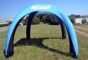galerie- tente gonflable BlaBla Car par Vision One