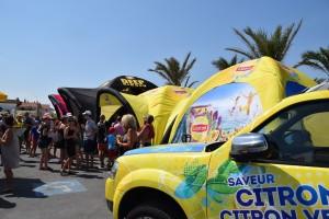 galerie - Lipton - tente gonflable publicitaire