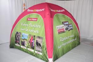 galerie - Tente publicitaire gonflable