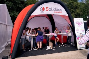 galerie - solidaris - tente gonflable publicitaire