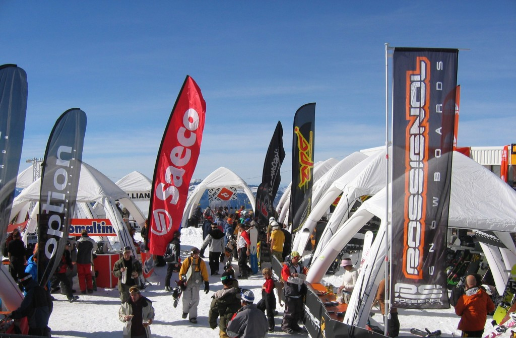 La marque Vision One, spécialiste de la tente gonflable