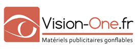 Vision One, tente publicitaire gonflable, totem publicitaire gonflable, meuble gonflable